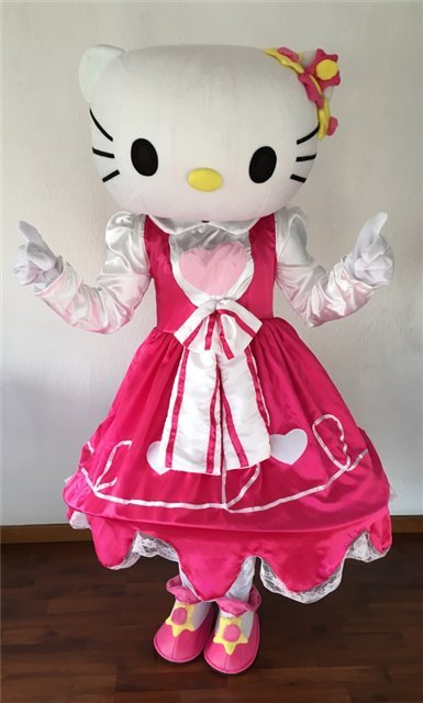 2h-2monitores FESTA CLUB MASCOTE HELLO KITTY