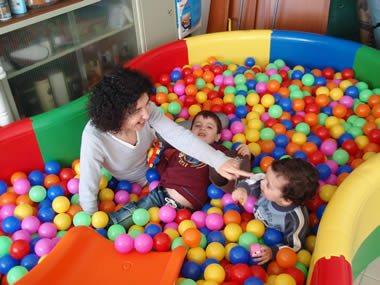 4h com entrega 1 mega piscina de bolas mpb club for Piscina de bolas minibe